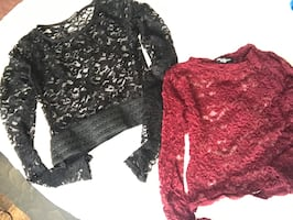 2 lace tops