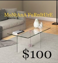 New glass coffee table  Fort Worth