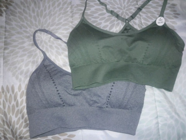 80da9004df Used 2 Women s Pro-Fit Seamless Sports Bras Size M for sale in ...