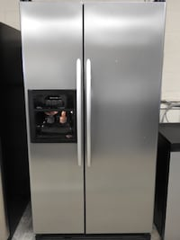 Kitchenaid Stainless Steel Side by Side Refrigerator