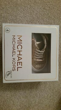 toddler's pair of beige Michael Kors high-top snea Oshawa, L1H 8L7