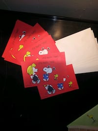8 Charlie brown party invitations  Fresno, 93726