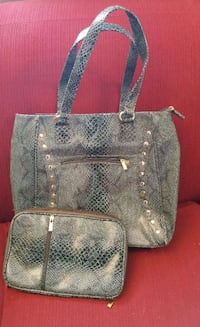 Purse and matching makeup bag  Laval, H7W 0B1