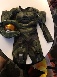 Boys Halo costume size 7-9 Mississauga, L5A 2Y6