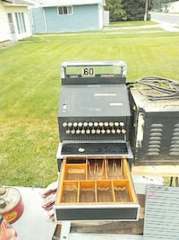 black vintage cash register Billings, 59105