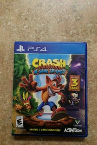 Sony PS4 Crash Bandicoot N-Sane Trilogy case Florence, 85132