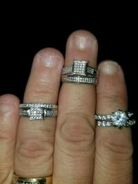 Sterling silver rings size 7 and 8 Trenton, 08611