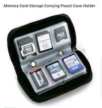 Memory Card Storage Carrying Pouch Case Holder Wallet For CF/SD/SDHC Winchester, 22601