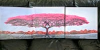 Pink Winter Tree Canvas Art Ontario, 91761
