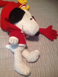 white and red bear plush toy Gaithersburg, 20879