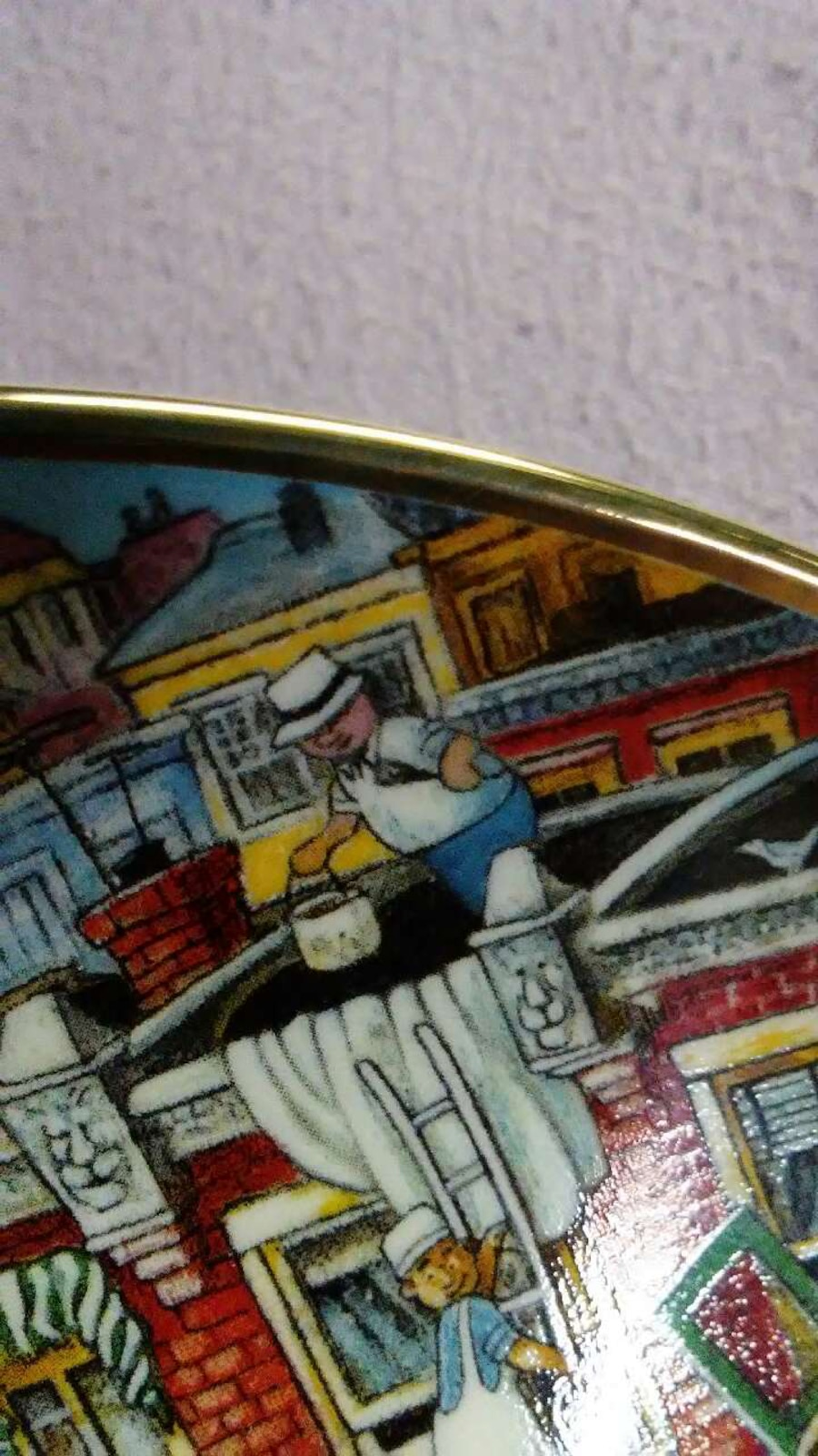 Good Humor Collector Plate - United States