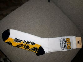 NEW:  Socks  Large