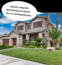 Houses painter. Free estimates North Las Vegas