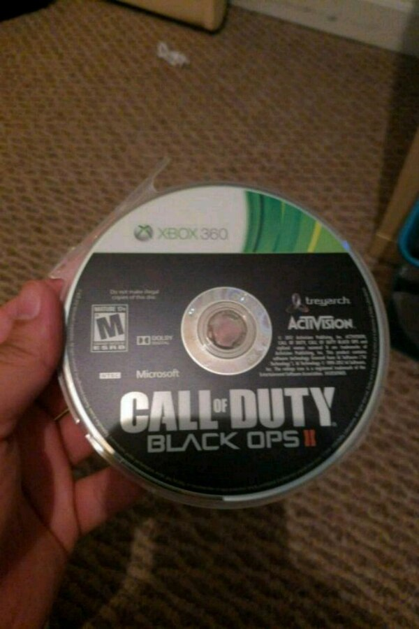 Call of Duty Black Ops 3 Xbox 360 game disc