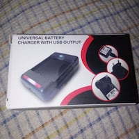 NEW: Universal cell phone battery charger (for bat Edmonton, T6X 1J9