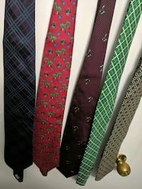 Burberry Tie Lot.