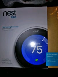 black and gray Nest Learning thermostat box Berryville, 22611