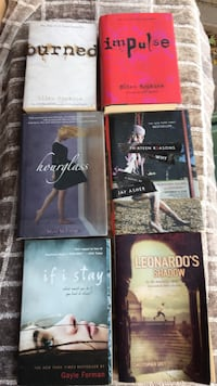 Books all 6 for girls  Toronto, M8Y 1N6