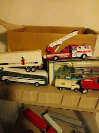 2 big boxes of toy trucks and cars***  Fort Washington, 20744