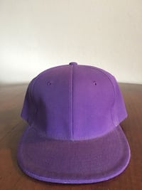 Purple Fitted Hat size 7.5
