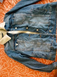 giacca button-up in denim blu Campagnola Emilia, 42012