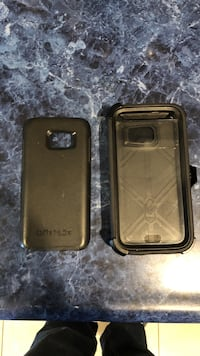 two black smartphone cases Harristown, 62522