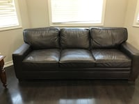 Leather Sofa.  100% high quality leather.