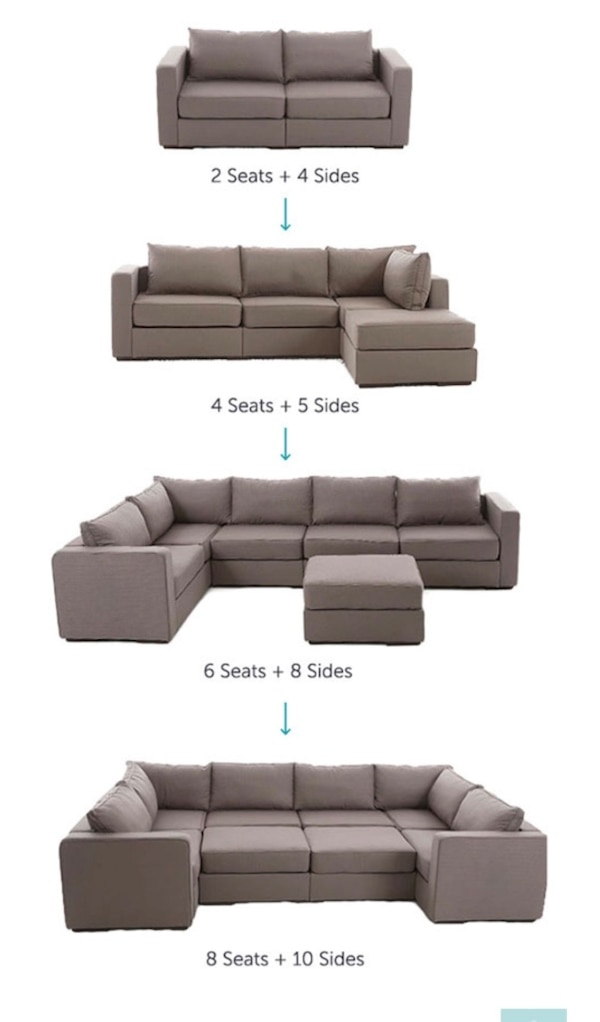 Lovesac Large Sectional M Lounger