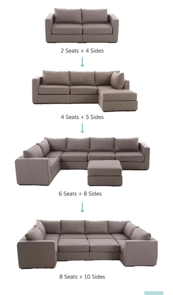Sold Lovesac Large Sectional M Lounger