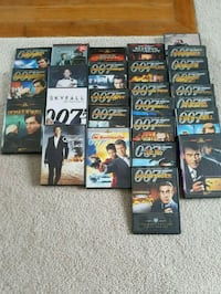 007 DVD collections   600 km