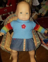 American Girl bitty baby doll & outfit Oneida, 13421