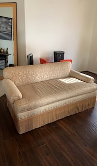 Gold Accent Couch