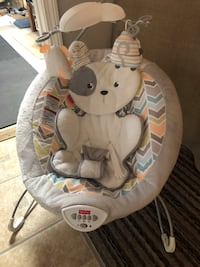 Fisher price deluxe baby bouncer seat
