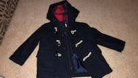 Navy blue Baby Gap Wool Toggle Coat Indian Head, 20640