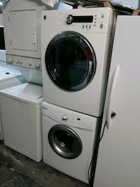 Whirlpool 24in washer GE electric dryer set  The Bronx, 10456