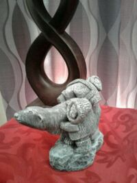 Vintage hand crafted ice age sculpture  London, N6H 0A5