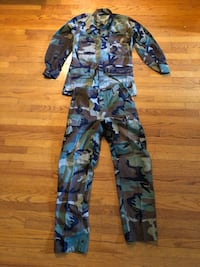 USMC Jungle Camouflage fatigues 4 sets (Small/Long) Los Angeles, 90035