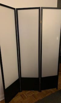 Room Divider with translucent panels - PICK UP ONLY