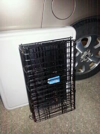 Small pet cage two doors