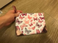 white and pink floral wristlet Tempe, 85281