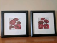 Set of 2 - framed wall decor. Calgary, T3A 5H8