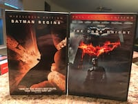 Batman Begins and The Dark Knight DVD Manor, 17554