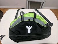 YMCA gym bag, almost new Brampton