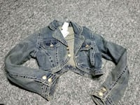 Crop jean jacket Maple Ridge