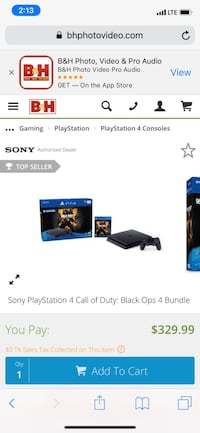 PS4 black ops bundle Santa Fe