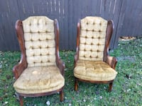 two brown antique chairs  Lake City, 32055