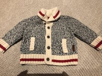 Baby Boy Roots cabin sweater Vaughan, L4K 2M9