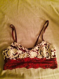 women's pink and white floral bra Phoenix, 85254
