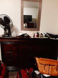 2 wooden dressers Vancouver