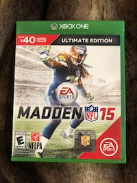 Madden nfl 15 xbox one game  Newport Beach, 92663
